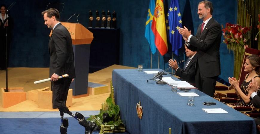Hugh Herr, Premio Princesa de Asturias de Investigación Científica
